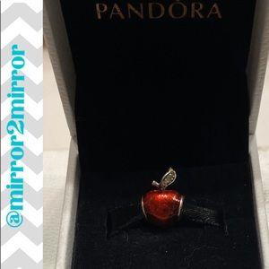 ❤️Authentic Pandora Snow Whites Apple charm